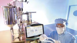 Crossflow-Filtration, Aufreinigung, Volumenreduzierung, crossflow filtration, purification, volume reduction